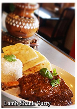Sechelt, Canada: Lamb Shank Curry