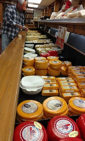 Millersburg, OH: We had a tough time limiting ourselves to what cheeses to buy