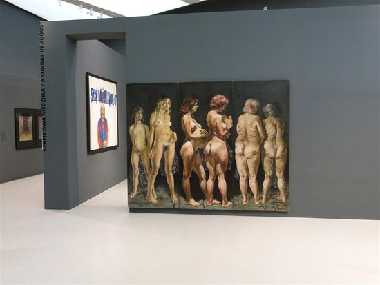 Museum of Japanese Art and Technology : exhibition of paintings by contemporary Polish authors