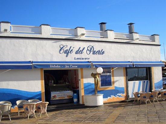 Cafe Del Puerto Playa Blanca Restaurant Reviews Photos