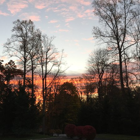 Ridgefield, CT : Beautiful sunrise from our DANCE SUITE