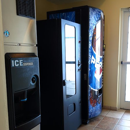 Napoleon, OH: vending area on every floor