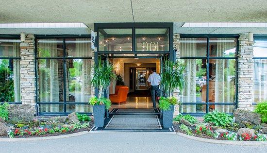 Hotel Castel & Spa Confort: Réception