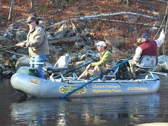 Charlemont, MA: Guided Fly Fishing Trips on the Deerfield River!