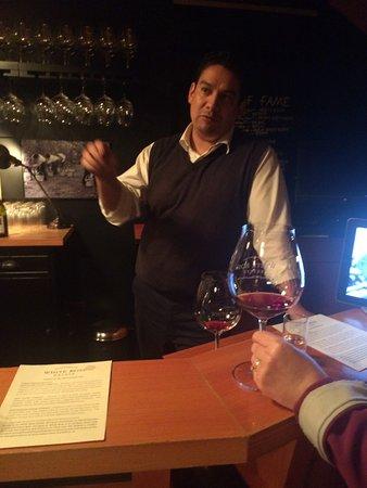 Dayton, OR: Dago - Tasting Room Manager (ask for him)