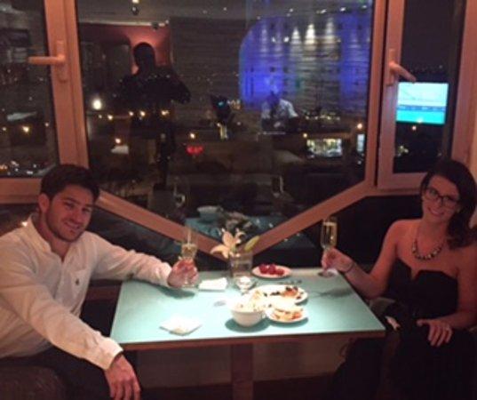 Grand Hyatt Amman: Great club lounge