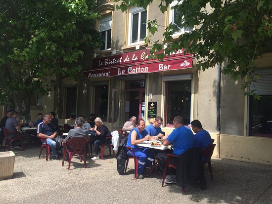 Miribel, ฝรั่งเศส: La terrasse