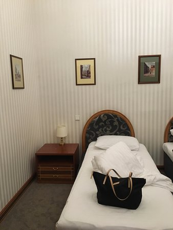 Hotel Pod Vezi: Inside our room