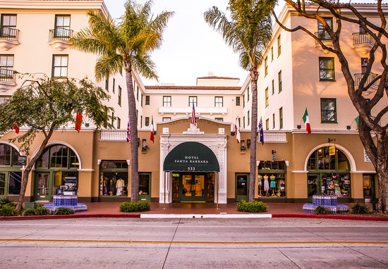 Hotel Santa Barbara: Our central downtown location offers easy access to exceptional dining, shopping and activites.