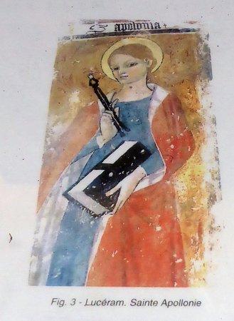 Eglise Sainte-Marguerite: Explication de la fresque voûte droite