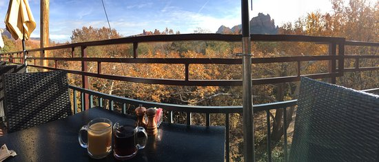 Great breakfast with a great view!