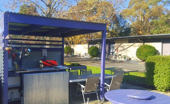 Meeniyan, Australien: outdoor kitchen & bbq facilities