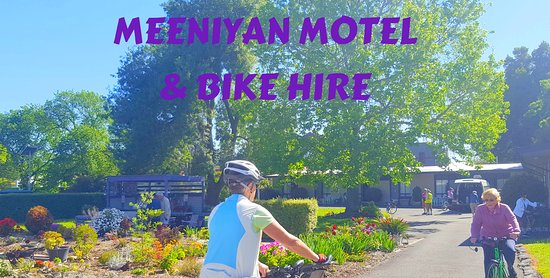 Meeniyan, Australien: Bike Hire available