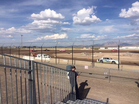Delta, UT: A small section of the dirt track. Great place to go watch the races!