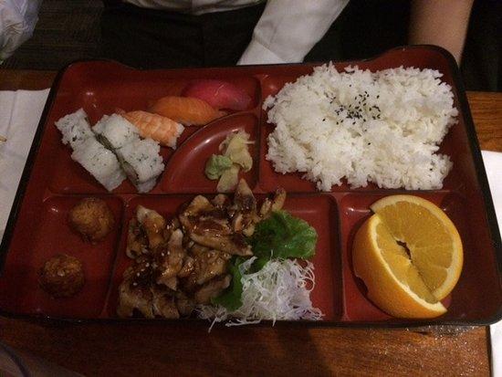 Sushi Mito Japanese Cuisine, 寿司チキン照り焼き ランチ