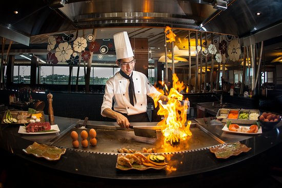 Teppanyaki at sono portside picture of sono japanese restaurant portside wh - Cuisiner au teppanyaki ...