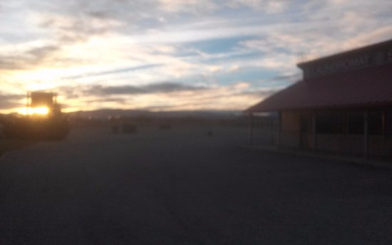 Hawthorne, NV: Sunrise over Whiskey Flats...