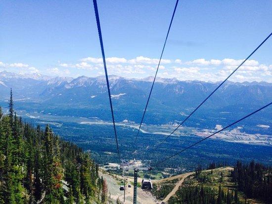Golden, Canada: Going up