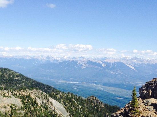 Golden, Canada: Up at the very top