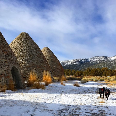 Ward Charcoal Ovens State Historic Park Ely Nv Top