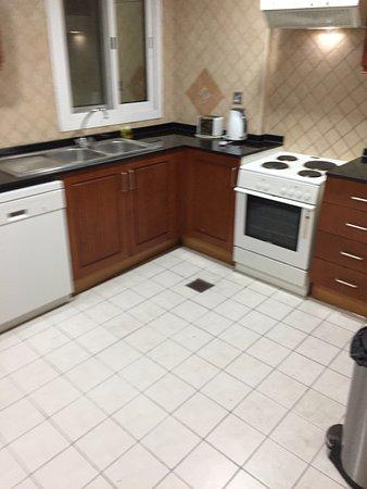 Rose Garden Hotel Apartments Bur Dubai Kitchen