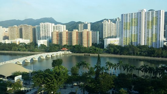 Royal Park Hotel: a view of the Shing Mun River