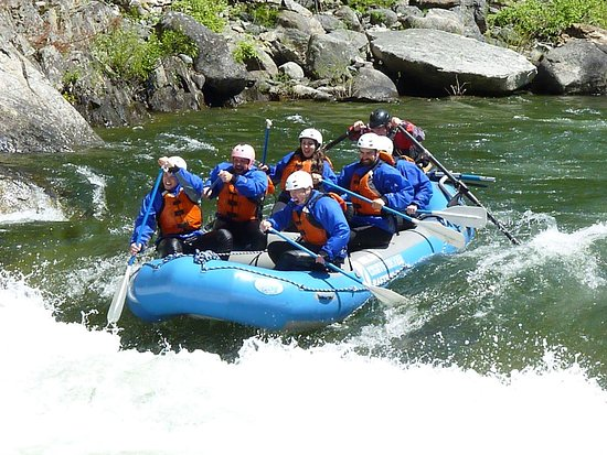 Nelson Whitewater Rafting Co. : That's me with the huge smile! Told ya, it was a blast! Thanks guys!