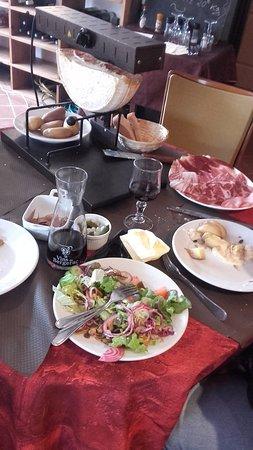 raclette copieuse