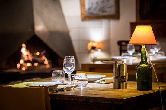 L'Anversis,table de montagne : cheminée