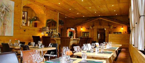 Restaurant auberge du grand paradis champ ry restaurant for Champery restaurant