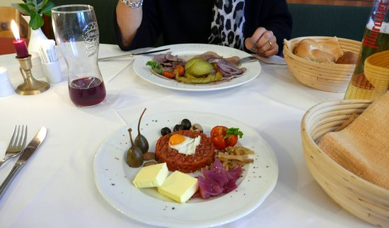 Mauterndorf, Austria: herrlich hier zu speisen ....