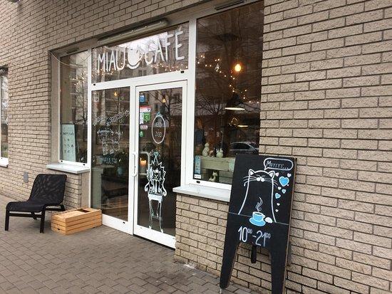 Photo of Restaurant Miau Cafe at Ul. Zawiszy 14, Warsaw 01-167, Poland