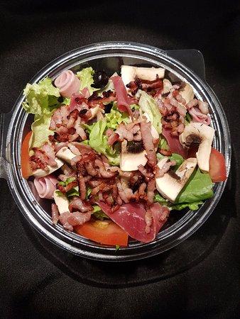 Foto de pizza du faubourg toulouse salade la campagnarde for Ver mangeur de salade