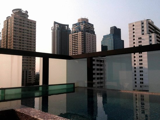 Aspira Hiptique: View from the Rooftop Pool