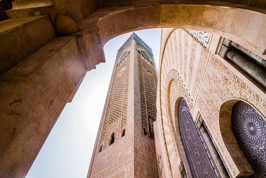 카사블랑카, 모로코: 모스크 첨탑입니다.