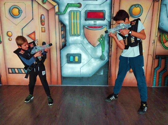 Team Laser Megazone