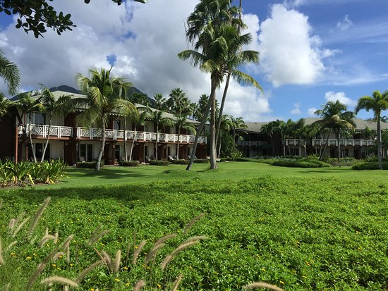 Four Seasons Resort Nevis, West Indies: LOVE that green and blue