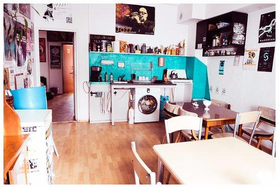 Bemma Hostel: Kuchnia