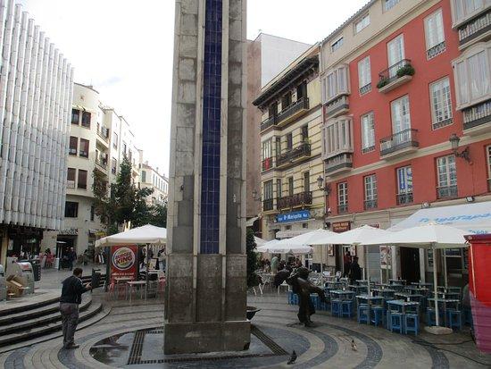 Plaza de uncibay m laga spanien omd men tripadvisor for Plaza uncibay