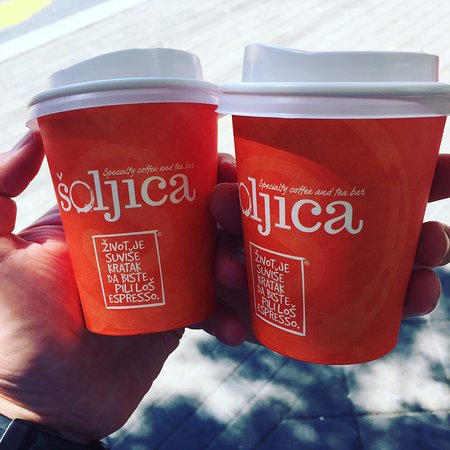 Šoljica Specialty Coffee & Tea Bar