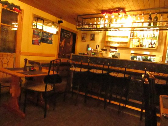 Sparkyu0027s Bar U0026 Restaurant: The Small Bar Area And Dining ...
