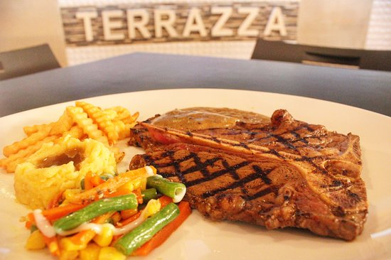 Terrazza S Beef Burger Combo Burger French Fries Idr50k