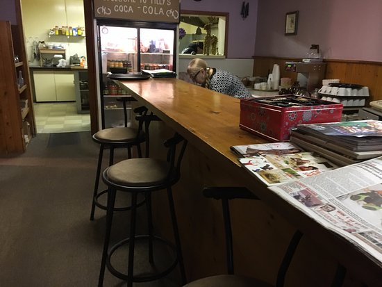 Tilly's - counter service at back of restaurant