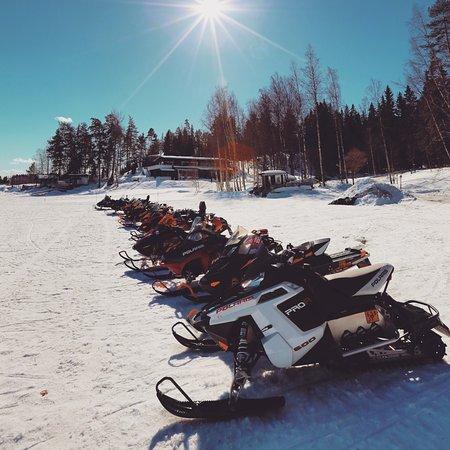 Asikkala, Finland: Moottorikelkkasafari