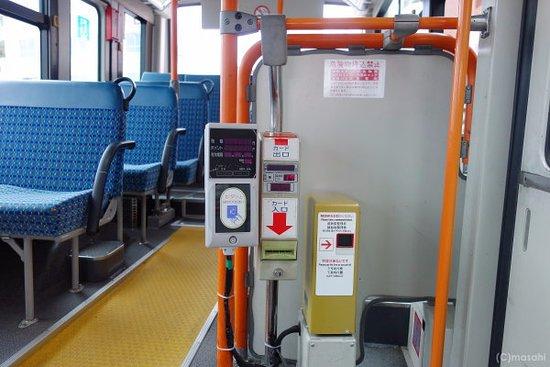 バス内部の雰囲気