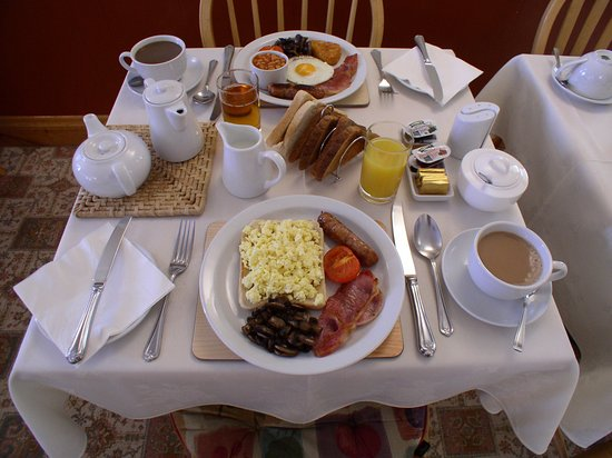 St. Magloire Guest House: Breakfast options