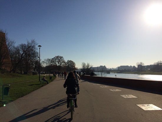 Cool Tour Company: Cycle tour passing the Castle in sunny November!