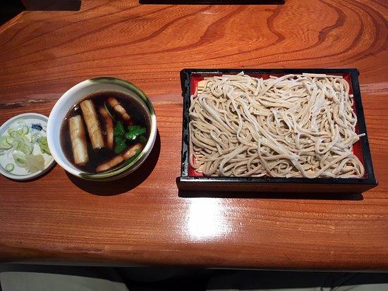 Kuroishi, Japan: 鴨汁せいろう(十割)
