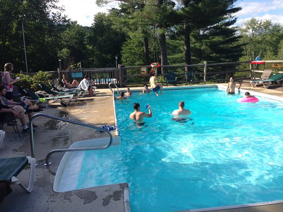 Troy, NH: One of the pools.
