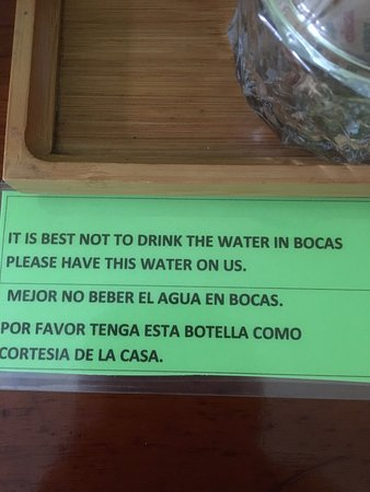 Hotel Palma Royale: Don't drink the water